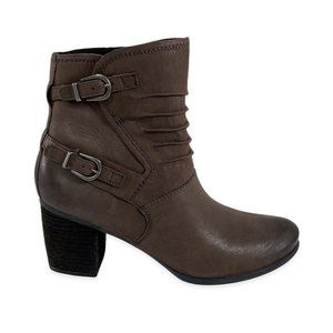 NWOB Josef Seibel Britney 37 Leather Ankle Boots